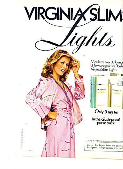 Virginia Slims ad 1981 ROSIE VELA (Image1)