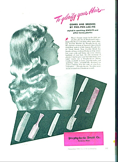 Pro-phy-lac-tic Brush Company ad 1946 (Image1)