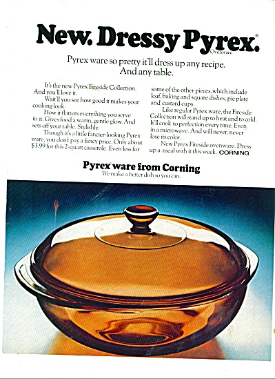 Pyrex ware from Corning ad 1977 (Image1)