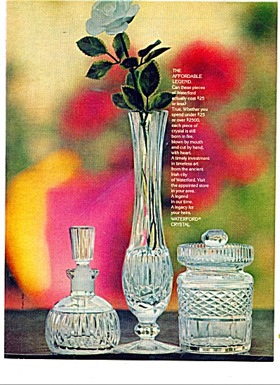 Waterford Crystal ad 1977 (Image1)