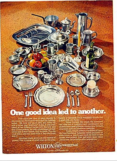 Wilton RWP Armetale ad 1977 (Image1)