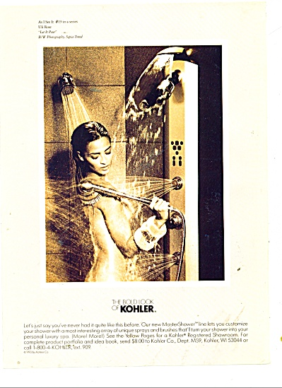The bold look of Kohler ad 1977 (Image1)