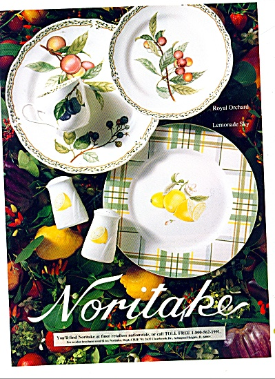 Noritake dishes ad 1993 (Image1)