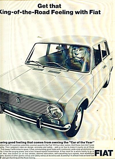 Fiat  Automobile ad 1967 (Image1)