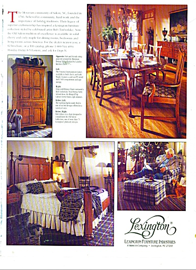 Lexington furniture ad 1994 (Image1)