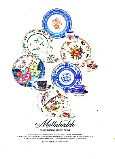Mottahedeh - tradition for a modern world ad (Image1)