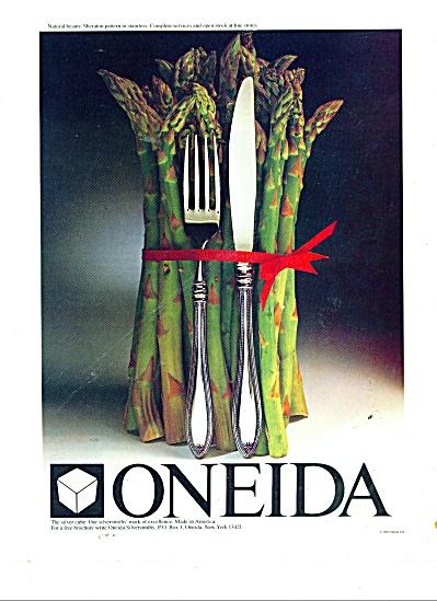 Oneida silverware ad 1984 (Image1)