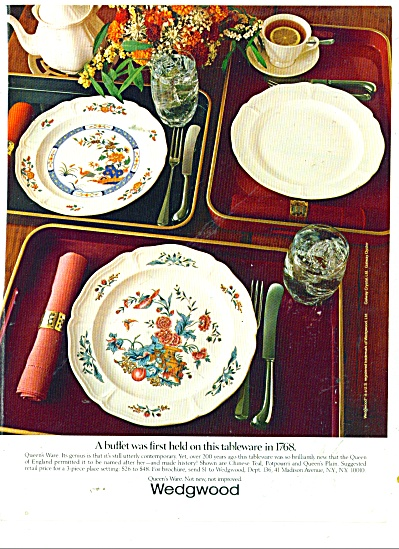 Wedgwood tableware ad 1984 (Image1)