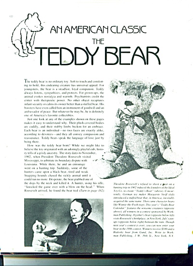 An American Class - The Teddy Bear Story 1984