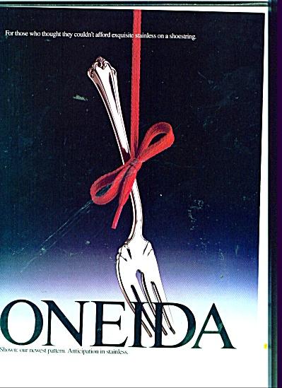 Oneida stainless ad 1987 (Image1)
