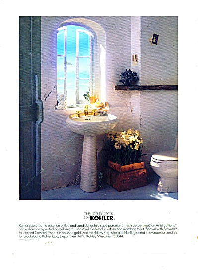 The Bold look of Kohler ad 1987 SERPENTINE (Image1)