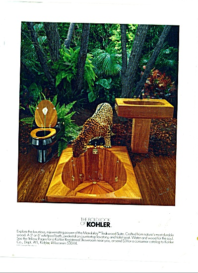 The bold look of Kohler ad 1987 MANDALAY (Image1)