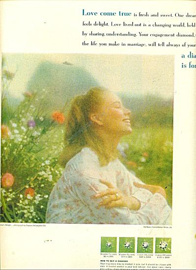 1967 DIAMONDFOREVER AD Frances McLaughlinGILL (Image1)
