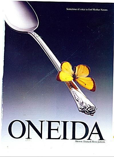 Oneida silverware ad 1991 (Image1)