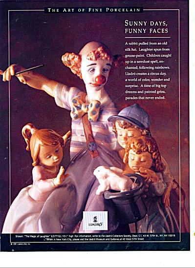 Lladro fine porcelain ad 1991 (Image1)