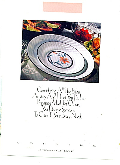 Corning ware - designed for living ad 1991 (Image1)