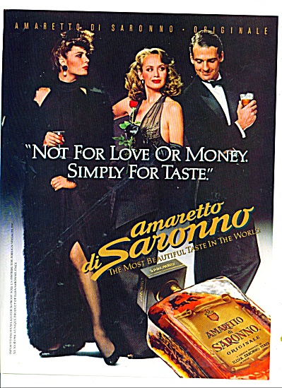 1984 Amaretto di Saronno originale ad PEOPLE (Image1)