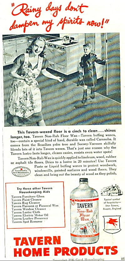 Tavern Home products  ad 1946 (Image1)