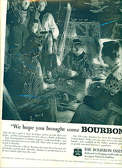 The Bourbon Institute Ad 1960