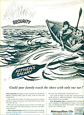 1960 Metropolitan Life Insurance AD at SEA (Image1)