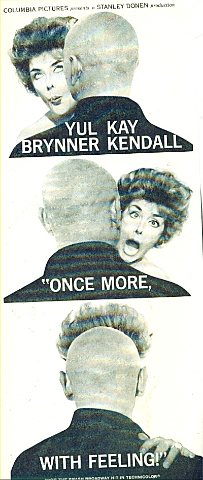 Movie AD PROMO:  Once more, with feeling - YUL BRYNNER (Image1)