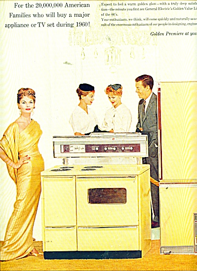 General electric appliances ad 1960 APPLIANCE (Image1)