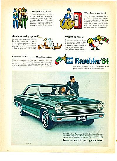 1964 Rambler CAR Promo AD American 440 (Image1)