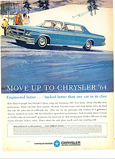 Chrysler Automobile for 1964 ad (Image1)