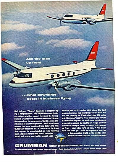 Grumman aircraft company ad (Image1)