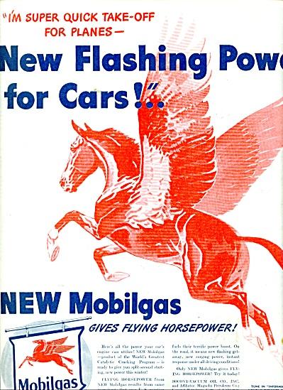 Mobilgas - Socony-Vacuum ad 1945 (Image1)