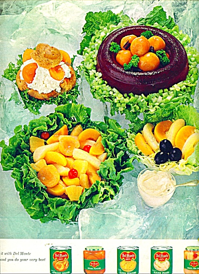 Delmonte fruits ads 1964 (Image1)