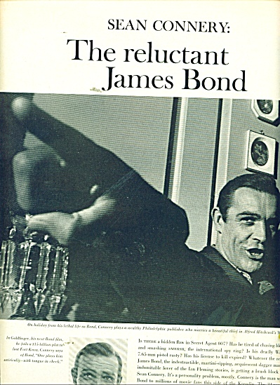 SEAN CONNERY - James Bond - story 1964 (Image1)