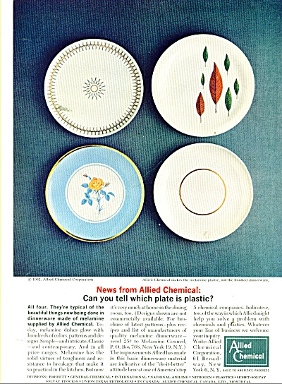 Allied Chemical Ad 1962