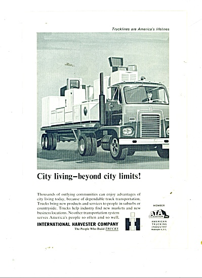 International Harvester company trucks ad (Image1)