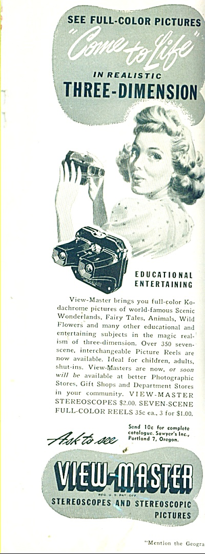 View-master Steroscopes And Stereoscopic