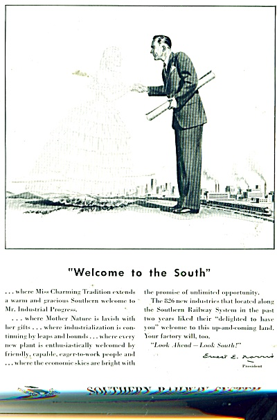 1948 Southern Railway ad Southern BELLE (Image1)