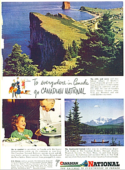 Canadian National railway ad 1948 (Image1)