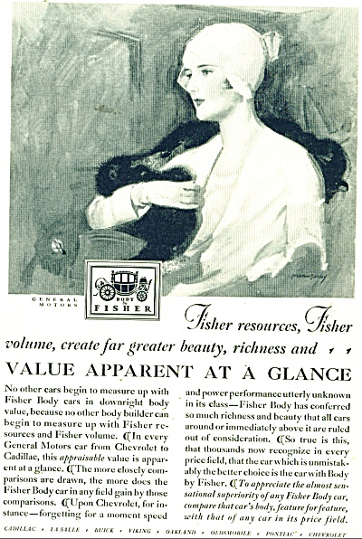 Body by Fisher ad 1929 McLelland Barclay (Image1)