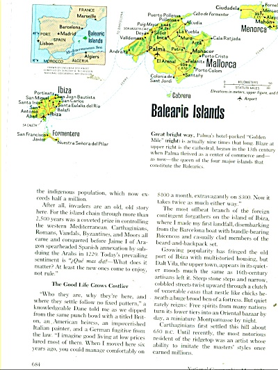Balearic Islands story and picture 1976 (Image1)