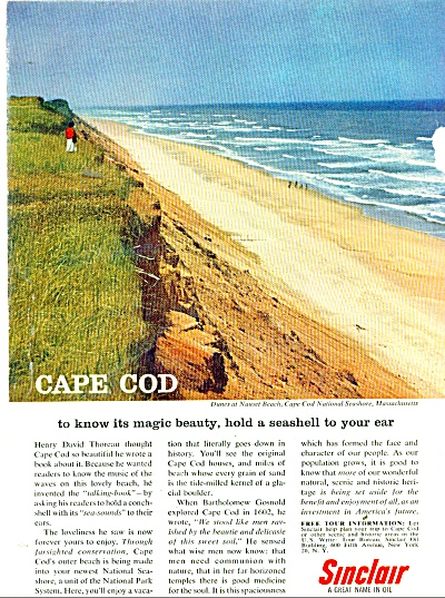 Sinclair  = a great name in oil  ad 1962 (Image1)
