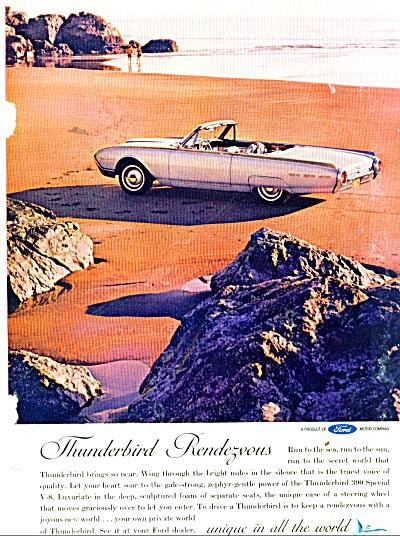 Ford Thunderbird ad 1962 (Image1)