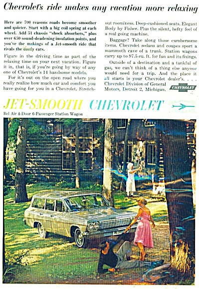 CHEVROLET STATION WAGON  ad 1962 (Image1)
