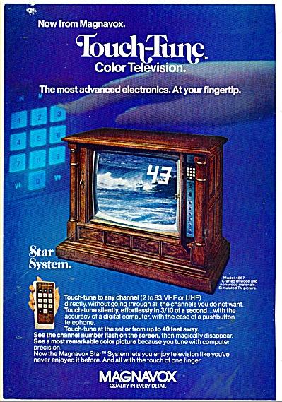 Magnavox Television star system ad 1976 (Image1)