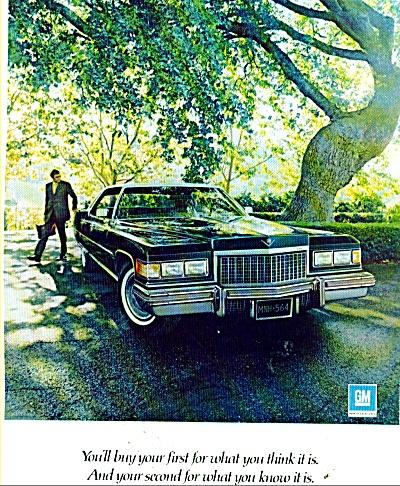 1976 Cadillac Automobile CAR AD Big RIDE (Image1)