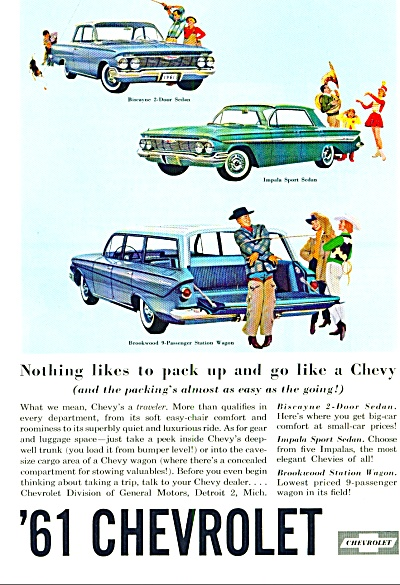 1961 Chevrolet Impala - Biscayne + CAR AD (Image1)