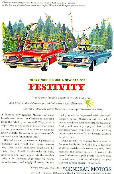 General Motors - Festivity ad 1961 (Image1)