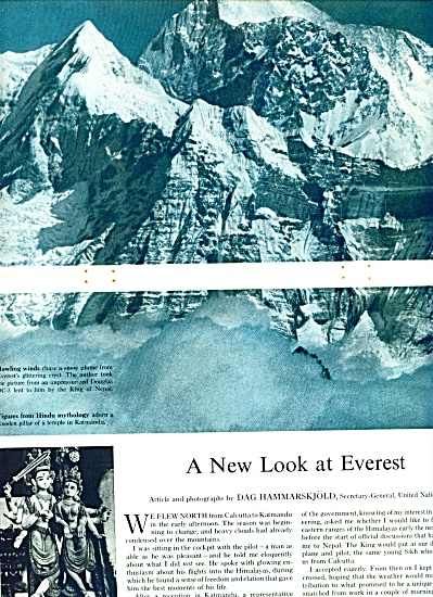 MT. EVEREST  story and pictures 1961 (Image1)