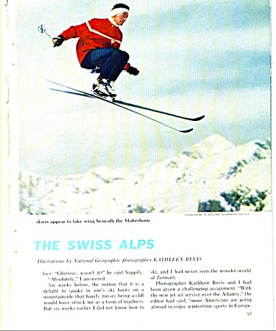 THE SWISS ALPS story and pictures 1961 (Image1)