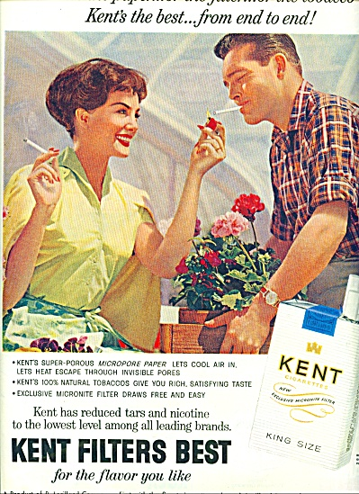 Kent Filters best cigarettes ad 1959 (Image1)