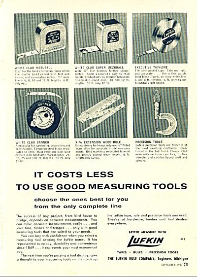 Lufkin precision tools ad 1957 (Image1)